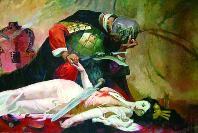 虞姬與楚霸王之死